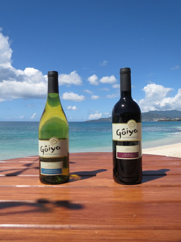Goiya Wine Selection in Grenada