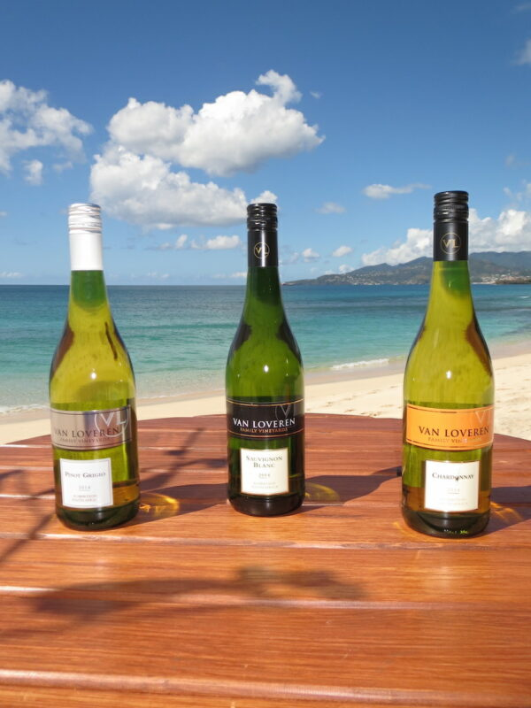 Van Loveren White Wine Selection in Grenada